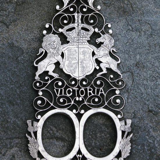 queen victoria ceremonial scissors