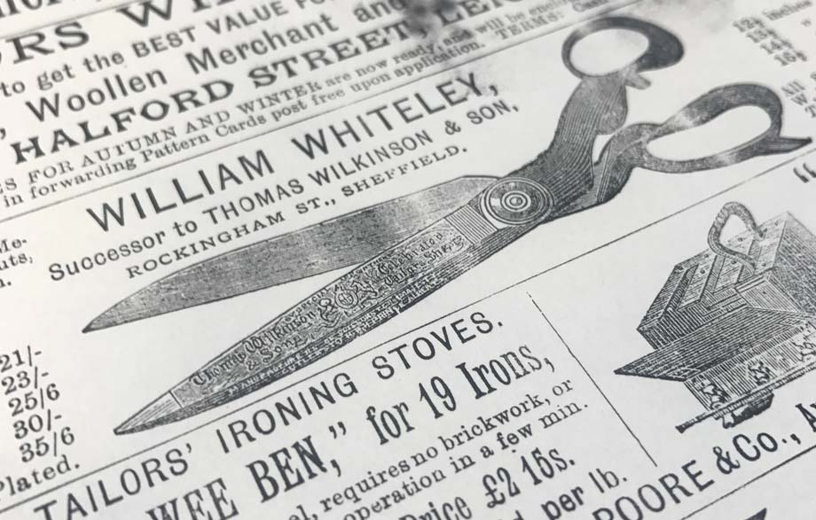 william whiteley history vintage advert
