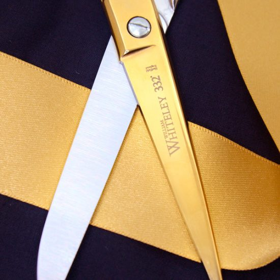 A close up of the blades