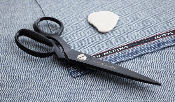 Wilkinson Black 10 inch left handed sidebent scissor