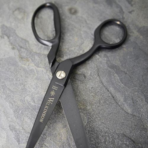 Black sidebent scissors